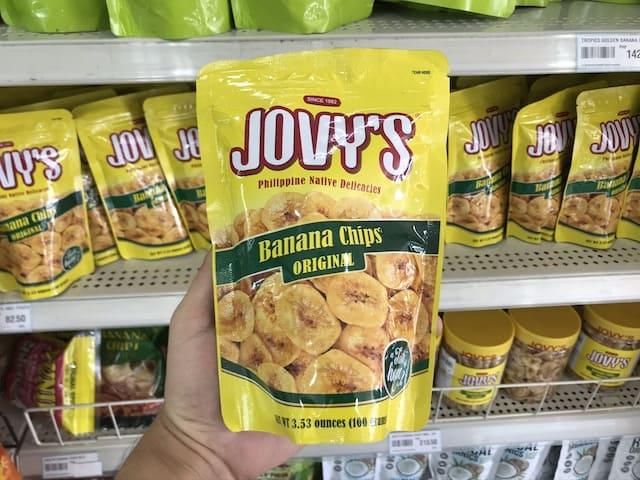 JOVY'S Banana Chips