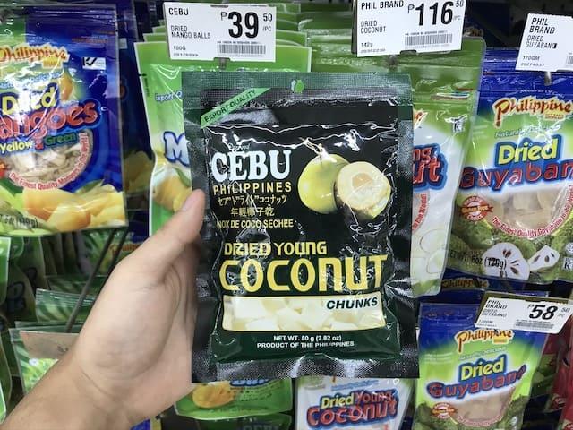 CEBU DRIED YOUNG COCONUT
