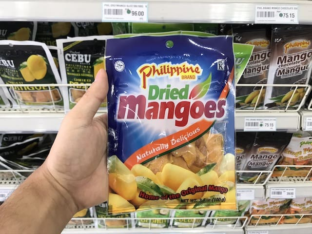 Philippines Dried Mangoes