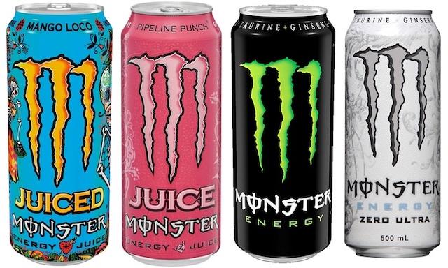 Monster Energy【徹底比較】フィリピンの鉄板エナジードリンク4選【疲労を軽減】